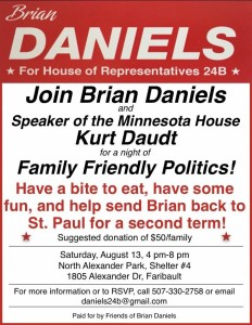 Brian Daniels Fundraiser